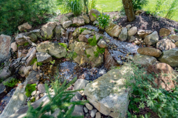 Complex Waterfall design in Central Pennsylvania