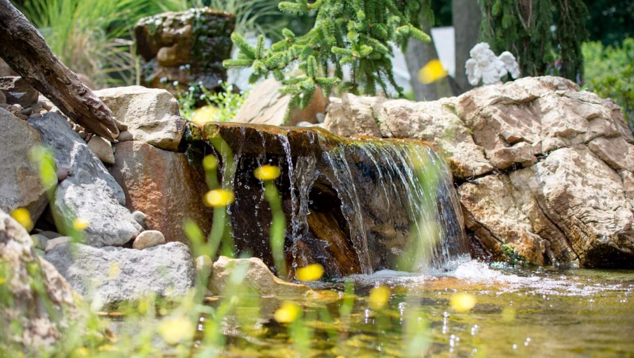 Pondless Waterfall Design & Installation