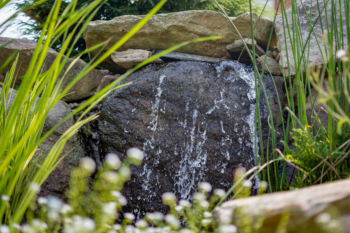 One of our recent water feature installations